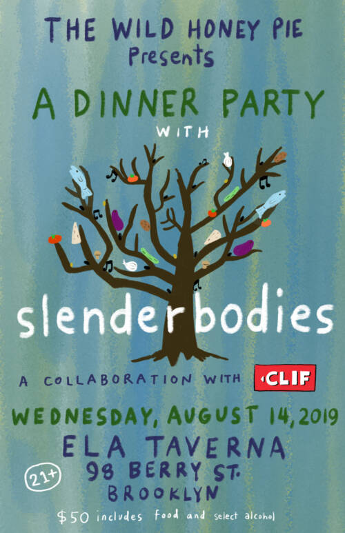 A Dinner Party with slenderbodies