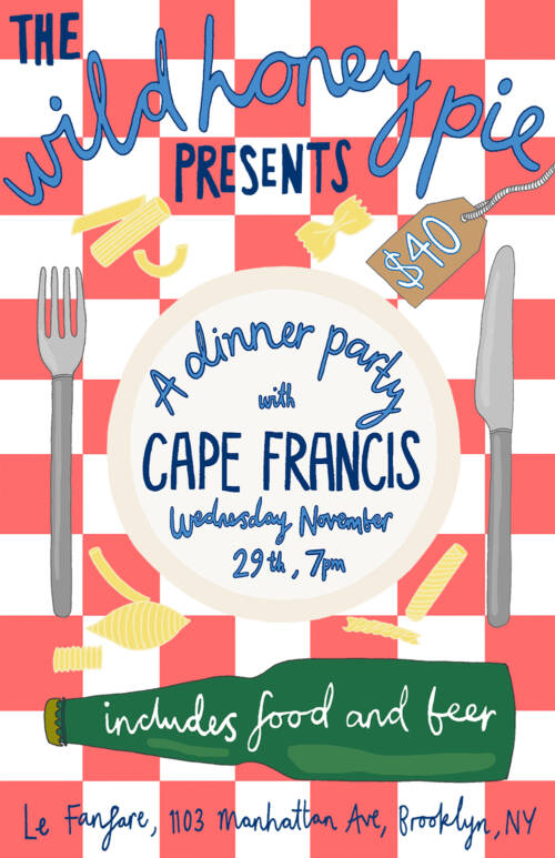 A Dinner Party with Cape Francis