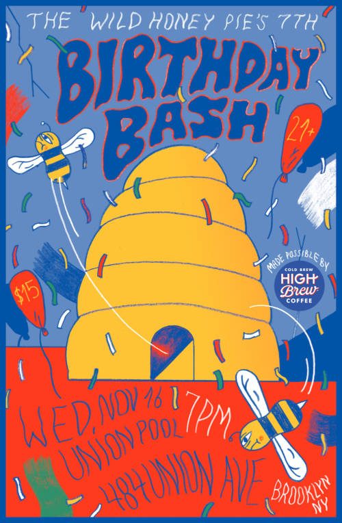 The Wild Honey Pie's 7th B-Day Bash