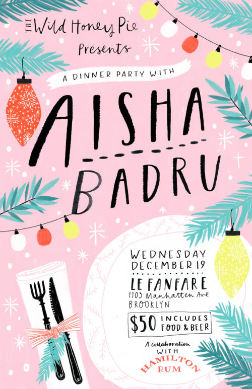 A Dinner Party with Aisha Badru