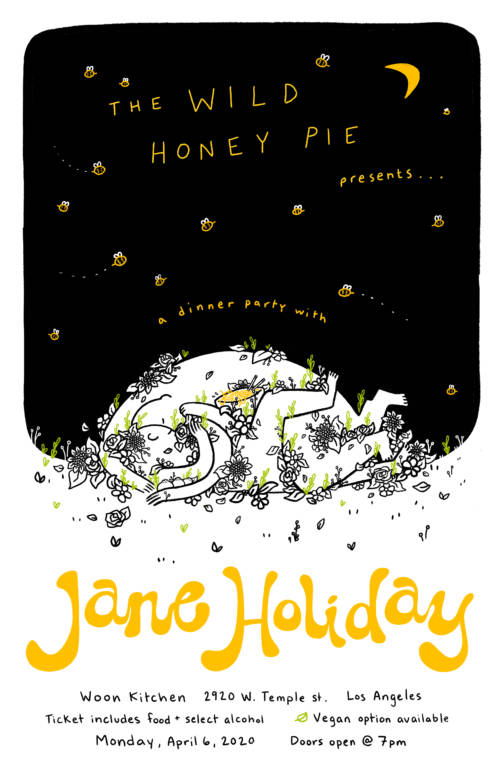 A Dinner Party with Jane Holiday