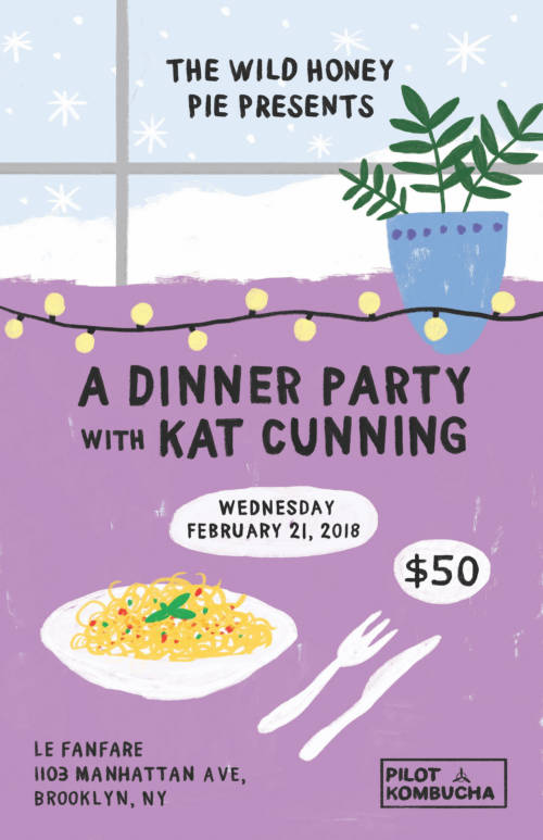 A Dinner Party with Kat Cunning