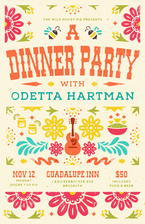 A Dinner Party with Odetta Hartman