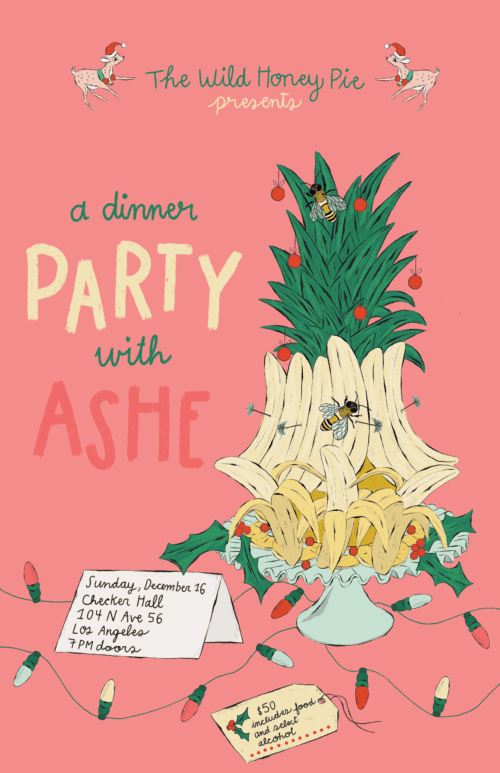 A Dinner Party with Ashe