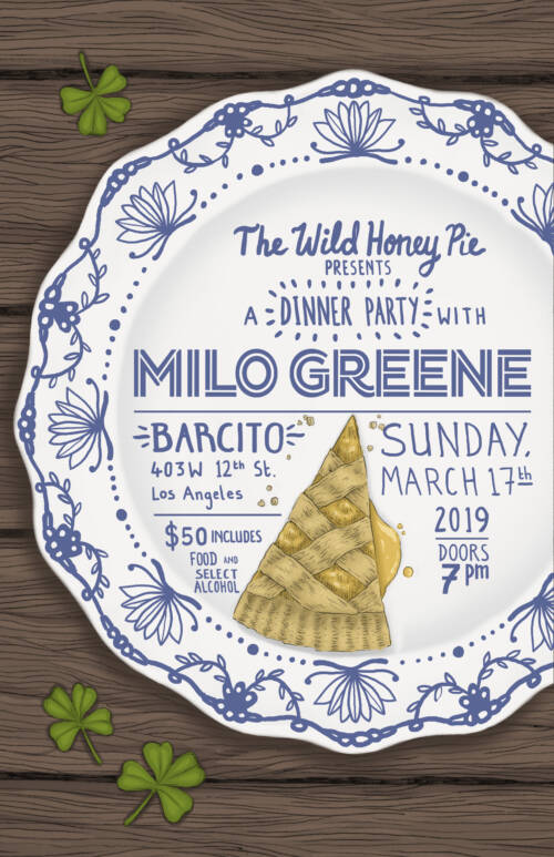 A Dinner Party with Milo Greene