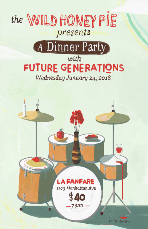 A Dinner Party with Future Generations