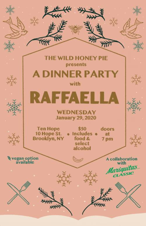 A Dinner Party with Raffaella