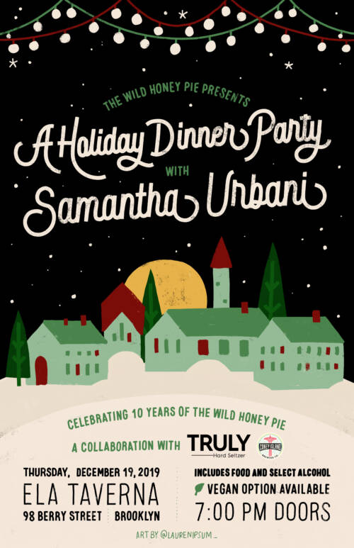 A Holiday Dinner Party with Samantha Urbani