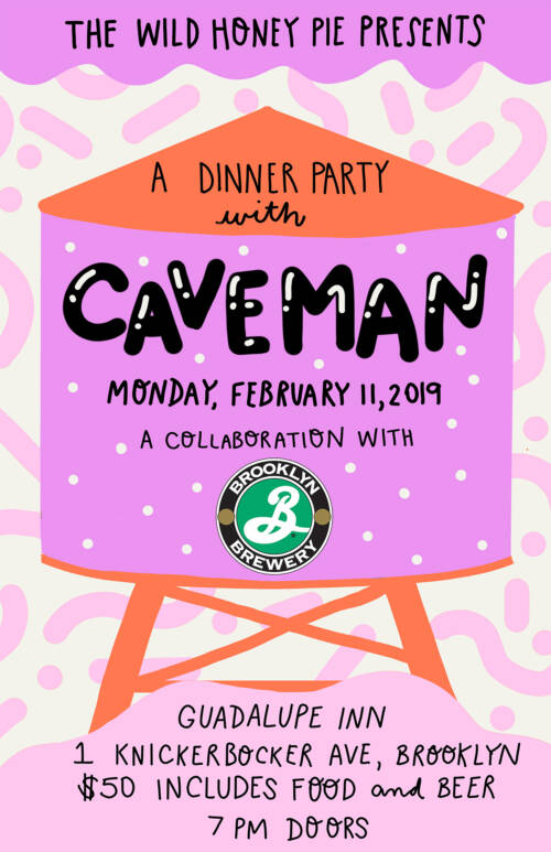 A Dinner Party with Caveman