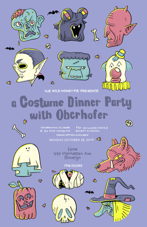 A Costume Dinner Party with Oberhofer