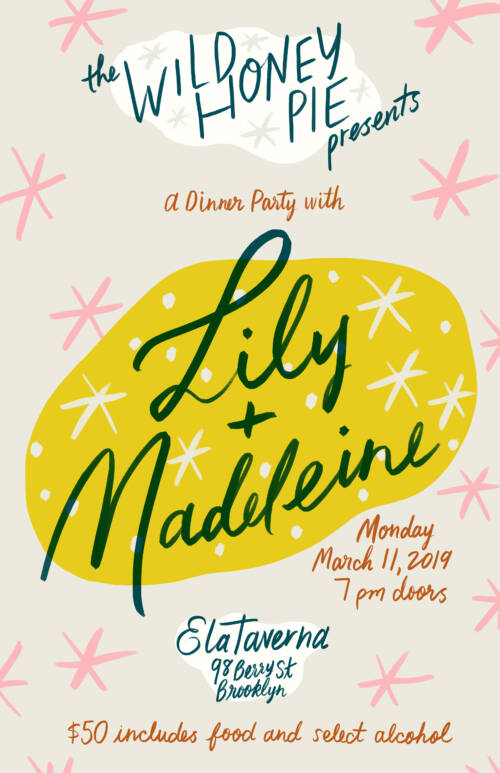 A Dinner Party with Lily & Madeleine