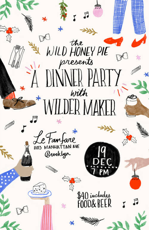 A Dinner Party with Wilder Maker