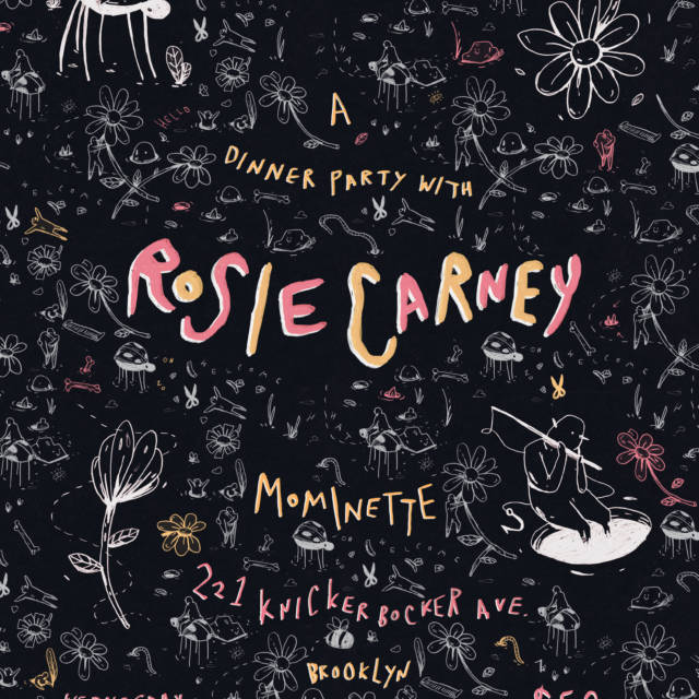 A Dinner Party with Rosie Carney