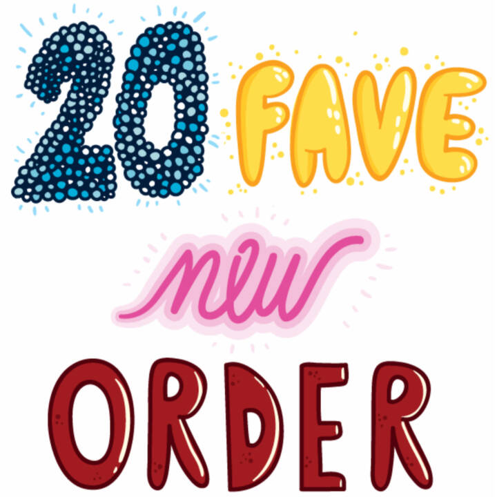 20 Fave New Order Songs
